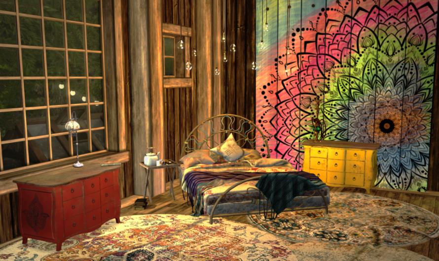 [Updated] Finished Loft Bedroom